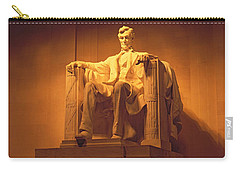 Usa, Washington Dc, Lincoln Memorial Carry-all Pouch by Panoramic Images
