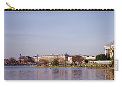 Usa, Washington Dc, Washington Monument Carry-all Pouch by Panoramic Images