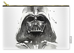 Darth Vader Watercolor Carry-all Pouch by Olga Shvartsur