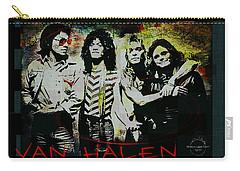 Van Halen - Ain't Talkin' 'bout Love Carry-all Pouch by Absinthe Art By Michelle LeAnn Scott