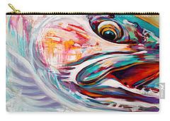 Vanishing Native - Steelhead Trout Flyfishing Art Carry-all Pouch by Savlen Art