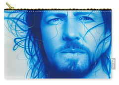 Eddie Vedder - ' Vedder ' Carry-all Pouch by Christian Chapman Art