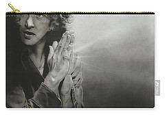 Eddie Vedder - ' Vedder Iv ' Carry-all Pouch by Christian Chapman Art