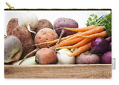 Veg Box Carry-all Pouch by Anne Gilbert
