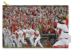 Victory - St Louis Cardinals Win The World Series Title - Friday Oct 28th 2011 Carry-all Pouch by Dan Haraga