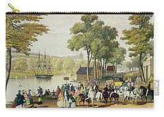 View From The North Bank Of The Serpentine Carry-all Pouch by Philip Brannan