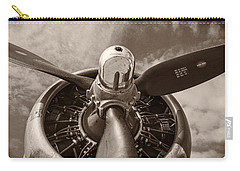 Vintage B-17 Carry-all Pouch by Adam Romanowicz