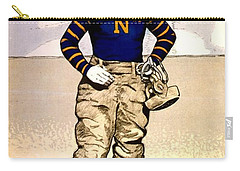 Vintage Poster - Naval Academy Midshipman Carry-all Pouch by Benjamin Yeager