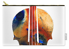 Violin Art By Sharon Cummings Carry-all Pouch by Sharon Cummings