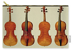 Violins Carry-all Pouch by Alfred James Hipkins