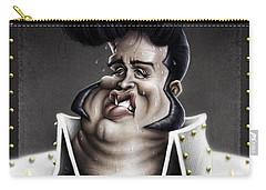 Viva Las Vegas Elvis Carry-all Pouch by Andre Koekemoer