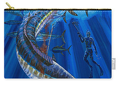 Wahoo Spear Carry-all Pouch by Carey Chen