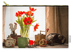 Wake-up Calls Carry-all Pouch by Jon Woodhams