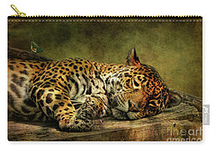 Wake Up Sleepyhead Carry-all Pouch by Lois Bryan