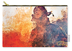 Walk Through Hell Carry-all Pouch by Everet Regal