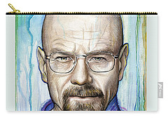 Walter White - Breaking Bad Carry-all Pouch by Olga Shvartsur