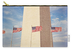 Washington Monument Washington Dc Usa Carry-all Pouch by Panoramic Images
