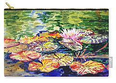Water Lilies Carry-all Pouch by Irina Sztukowski