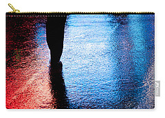 Times Square Watercolours Carry-all Pouch by Dave Bowman