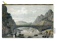 Waterloo Bridge Over The River Conwy Carry-all Pouch by English School