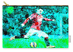 Wayne Rooney Splats Carry-all Pouch by Brian Reaves