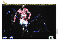 Wayne Rooney Working Magic Carry-all Pouch by Brian Reaves