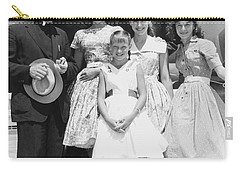 Welk And The Lennon Sisters Carry-all Pouch by Underwood Archives