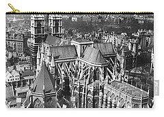 Westminster Abbey In London Carry-all Pouch by Underwood Archives