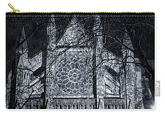 Westminster Abbey North Transept Carry-all Pouch by Joan Carroll