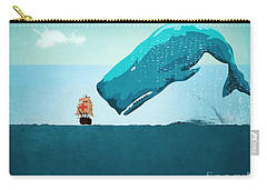Whale Carry-all Pouch by Mark Ashkenazi
