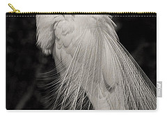 Whispy And Delicate Carry-all Pouch by Deborah Benoit