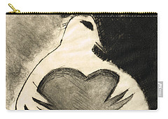 White Dove Art - Comfort - By Sharon Cummings Carry-all Pouch by Sharon Cummings