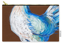 White Hen Carry-all Pouch by Mona Edulesco