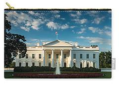 White House Sunrise Carry-all Pouch by Steve Gadomski
