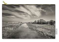 White Swan Carry-all Pouch by Dave Bowman