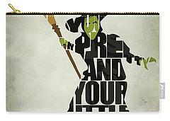 Wicked Witch Of The West Carry-all Pouch by Ayse Deniz