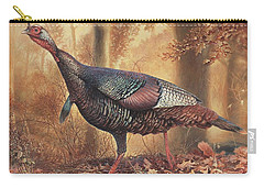 Wild Turkey Carry-all Pouch by Hans Droog