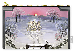 Winter Carry-all Pouch by Maggie Rowe