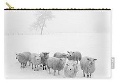 Winter Woollies Carry-all Pouch by Janet Burdon