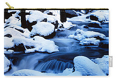 Winter Yosemite National Park Ca Carry-all Pouch by Panoramic Images