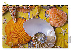 Wonderful Sea Life Carry-all Pouch by Garry Gay