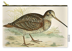 Woodcock Carry-all Pouch by Beverley R Morris
