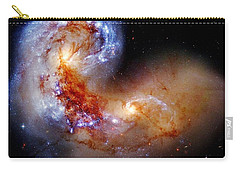 Worlds Collide Carry-all Pouch by Benjamin Yeager