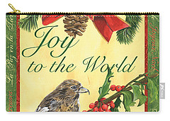 Xmas Around The World 2 Carry-all Pouch by Debbie DeWitt