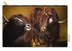 Yak Love Carry-all Pouch by Priscilla Burgers