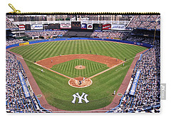 Yankee Stadium Carry-all Pouch by Allen Beatty