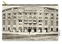 Yankee Stadium Carry-all Pouch by Bill Cannon