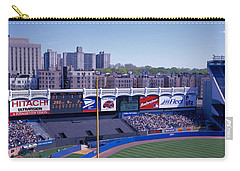 Yankee Stadium Ny Usa Carry-all Pouch by Panoramic Images