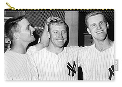 Yankees Celebrate Victory Carry-all Pouch by Underwood Archives