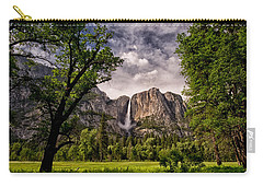 Yosemite Falls Carry-all Pouch by Cat Connor